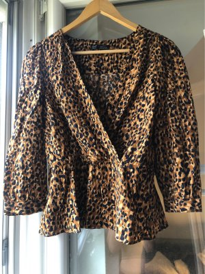 Leoparden Bluse von ZARA