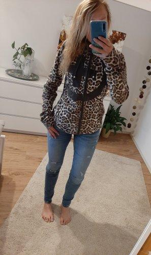 Leoparden Fleecejacke von Plusminus