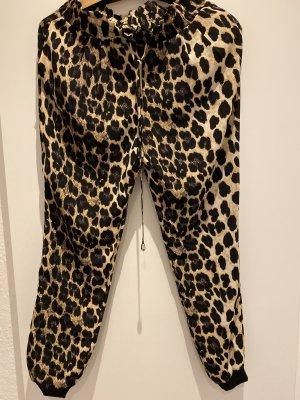 Leoparden Jogger Satiniert