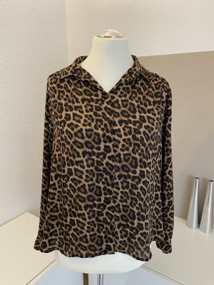 Leoparden-Look Bluse