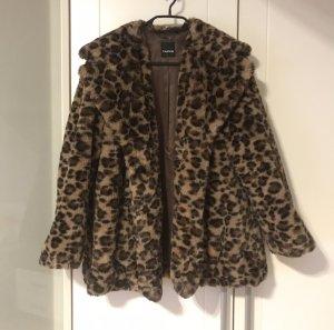 Leoparden Mantel Oversized