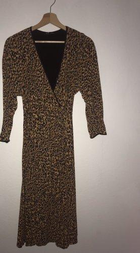 Leoparden Midikleid