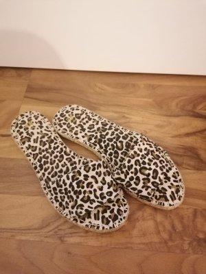 Leoparden Pantoletten