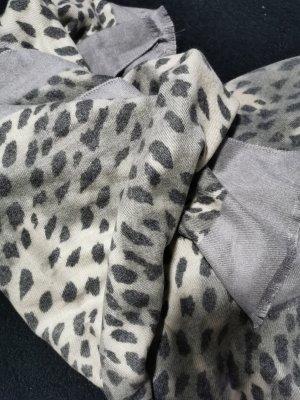 Woolen Scarf black-grey