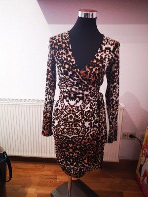 Leoparden Wickelkleid