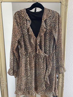 Leopardenkleid/ Minikleid