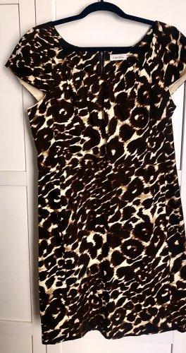 Calvin Klein Robe fourreau multicolore coton