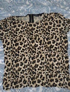 Leopardenmuster T-Shirt in M von Esmar, Heidi Klum