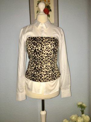 Leopardenmuster trägerlos aus Baumwolle
