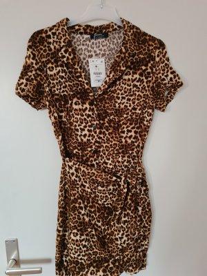 Leopardenprint Minikleid
