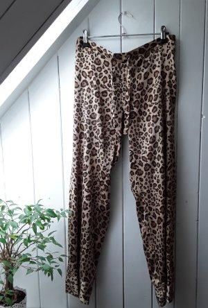 Leopardgemusterte Schlafanzughose von H&M