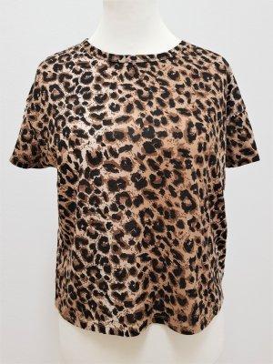 Leoprint Shirt von Zara - Neuwertig