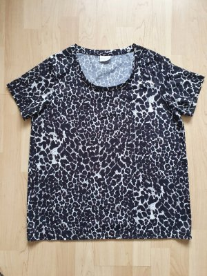 Leoshirt / Leoprint / Animalprint / Tshirt / Shirt / Rundhals-Ausschnitt / Größe 42 / ungetragen