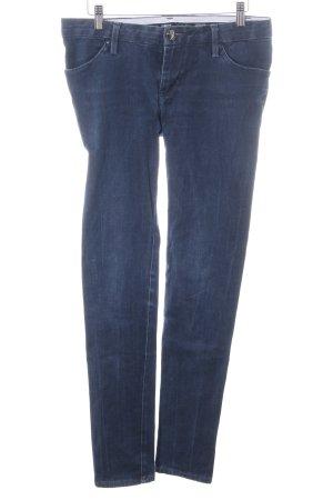 LEROCK Cosmetic Jeans Skinny Jeans blau Casual-Look