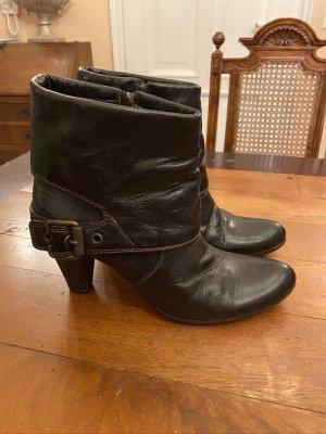 Leroy & Dee Booties black leather