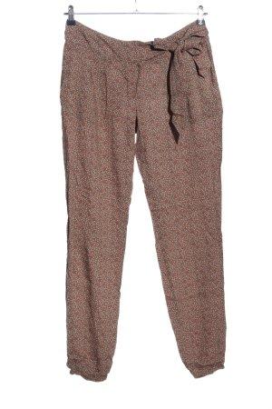 Lerros Pantalon «Baggy» imprimé allover style décontracté