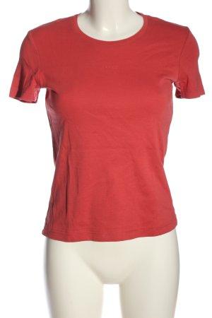 Lerros Shirt basique rouge style décontracté