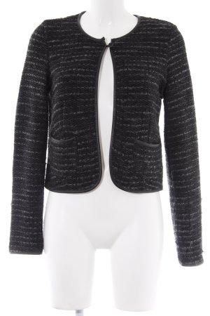 Lerros Blouson nero-grigio puntinato elegante