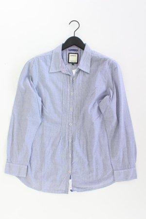 Lerros Bluse Größe 44 blau aus Baumwolle