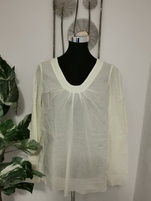 Lerros Damen Hemdbluse Bluse Sommerbluse hellgelb Größe 40 NEU