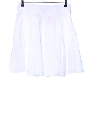 Lerros Jupe à plis blanc style décontracté
