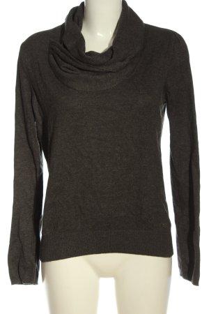 Lerros Pull tricoté gris clair style décontracté