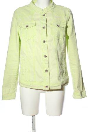Lerros Veste en jean vert style décontracté