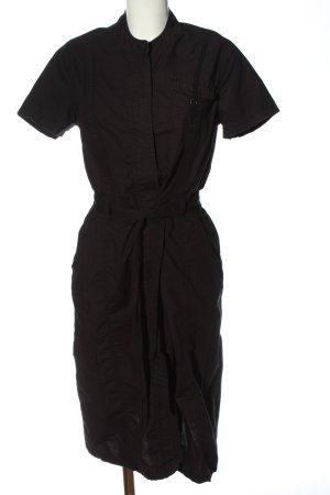 Lerros Sukienka z krótkim rękawem czarny W stylu casual