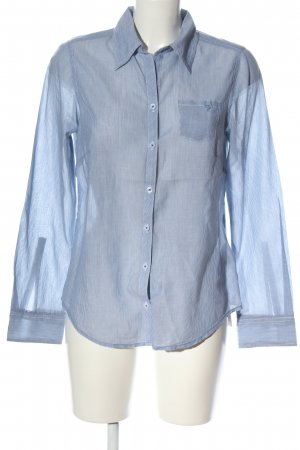 Lerros Langarmhemd blau-weiß Streifenmuster Business-Look