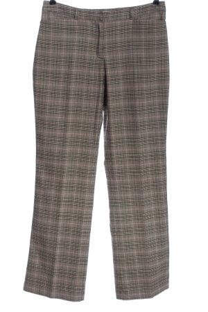 Lerros Pantalon en jersey motif à carreaux style d'affaires