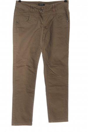 Lerros Jeans coupe-droite brun style décontracté