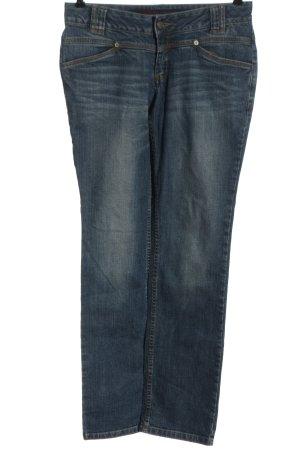 Lerros Jeans coupe-droite bleu style décontracté