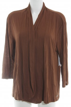 Lerros Strick Cardigan cognac Casual-Look