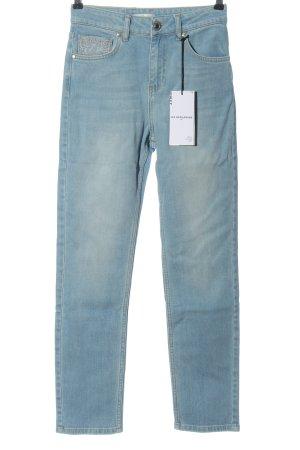 Les Benjamins High Waist Jeans blau Casual-Look
