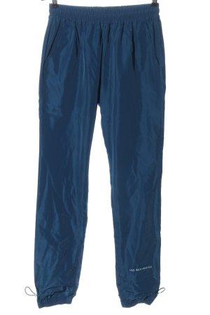 Les Benjamins Stoffhose blau Casual-Look