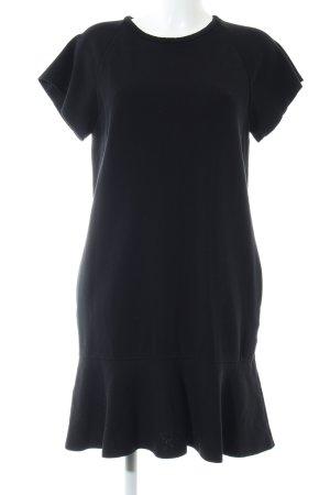 Les Copains Kurzarmkleid schwarz Casual-Look