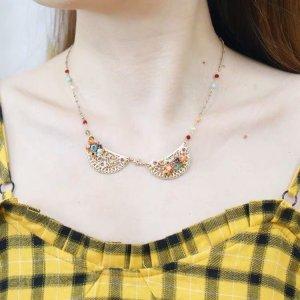 Les Néréides Collar multicolor