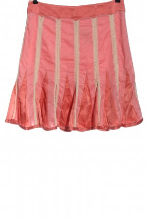 les petites collection Rok met hoge taille roze-wolwit casual uitstraling