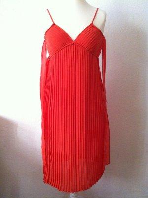Empire Dress salmon polyester