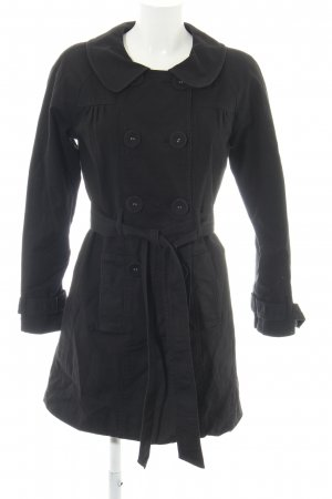 les petites collection Trenchcoat schwarz Casual-Look