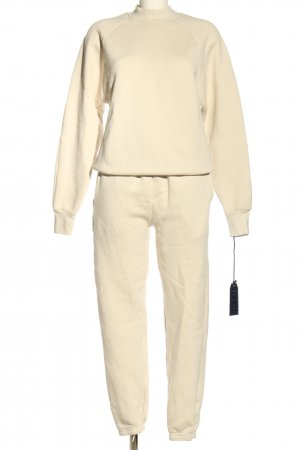 LES TIEN Jersey Twin Set creme Casual-Look