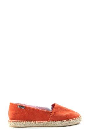 Les Tropéziennes Espadrille Sandals light orange casual look