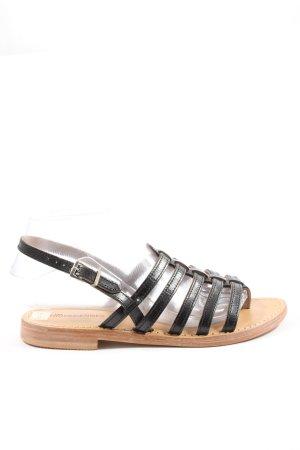 Les Tropéziennes Komfort-Sandalen schwarz Casual-Look