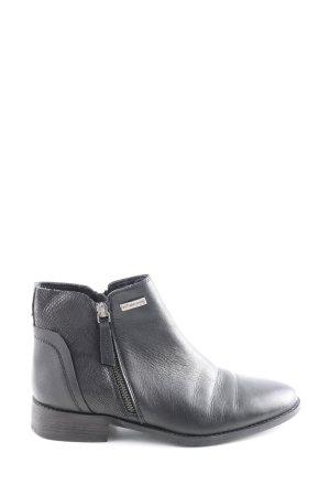Les Tropéziennes Reißverschluss-Stiefeletten schwarz Casual-Look