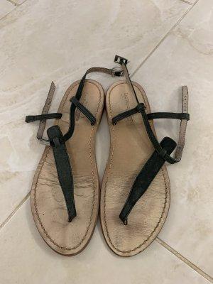 Les Tropéziennes Comfortabele sandalen grijs-donkergrijs