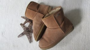 Les Tropeziennes * Traum Fell Boots Booties Stiefel Kurzschaft * camel braun Nubukleder * 39