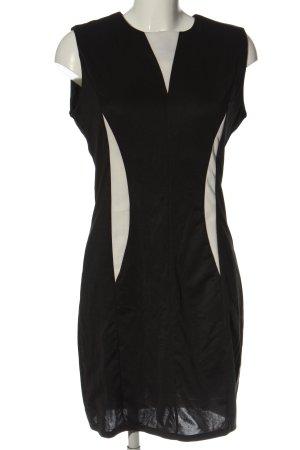 Lesara Etuikleid schwarz-weiß Casual-Look