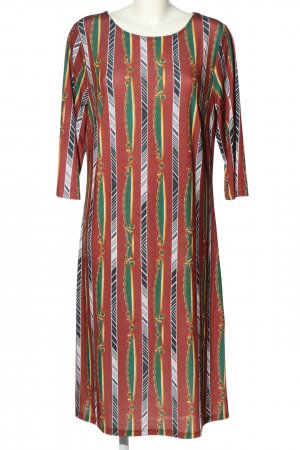 Lets Dress Sukienka ze stretchu Na całej powierzchni W stylu casual