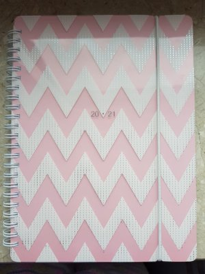 Plecak szkolny różowy-biały