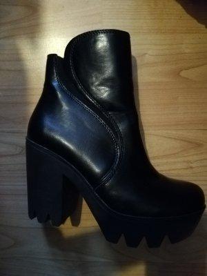Buffalo Low boot noir